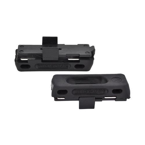 Original Magpul?? L-Plate USGI Magazine Floorplate w/ Rubberized Pad (3 Pack), MAG024-BLK - Black