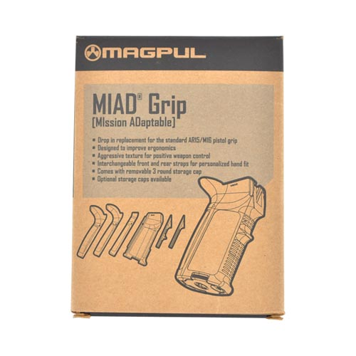 Original Magpul® MIAD Replacement Pistol Grip for AR15/ M16 - Black