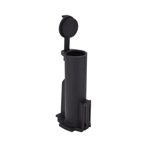 Original Magpul MIAD??/MOE?? CR123A Battery Storage Core (Holds Two Batteries), MAG055-BLK - Black