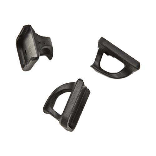 Original Magpul Speedplate Glock 9MM/ .40 S&W Magazine Floorplate w/ Loop (3 Pack), MAG230-BLK - Black