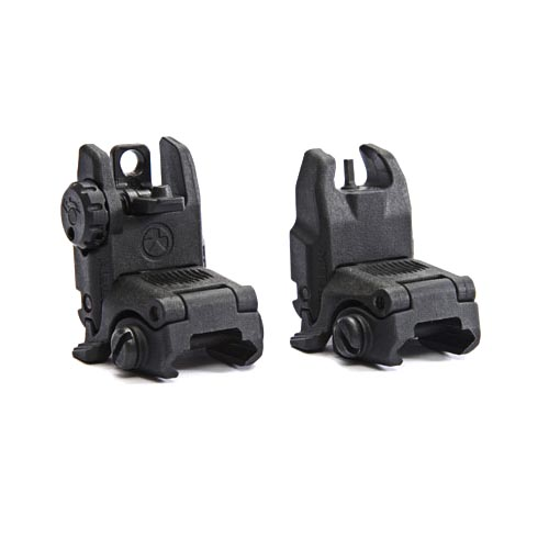 Magpul Original Equipment® MBUS (Gen 2)Rear Sight for 1913 Picatinny Rails (like AR15/ M16) - Black