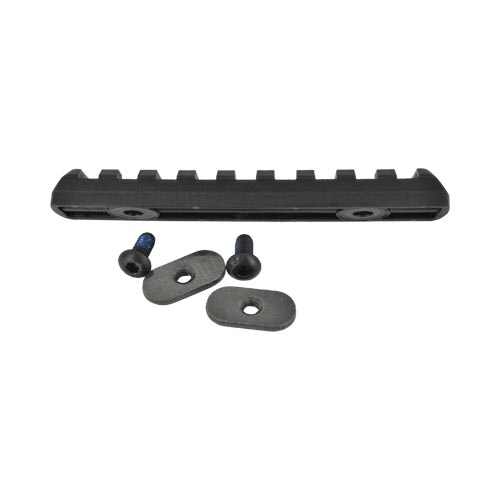 Magpul Original Equipment Polymer Rail Section (9 Slots), MAG408-BLK - Black