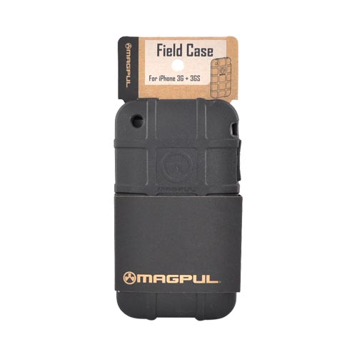 Original Magpul Apple iPhone 3G 3GS Field Crystal Silicone Case, MAG449-BLK - Black
