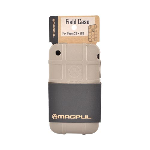 Original Magpul Apple iPhone 3G 3GS Field Crystal Silicone Case, MAG449-FDE - Dark Earth Beige
