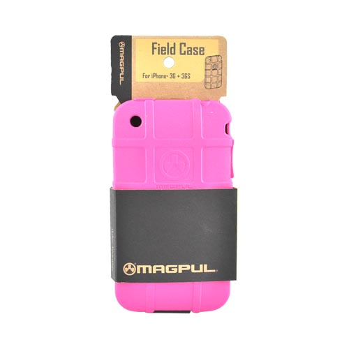 Original Magpul Apple iPhone 3G 3GS Field Crystal Silicone Case, MAG449-PNK - Hot Pink