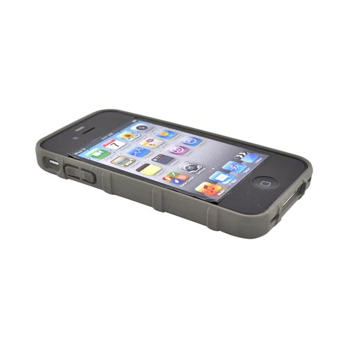 Original Magpul AT&T Apple iPhone 4 Executive Field Crystal Silicone Case, MAG450-FOL - Foliage Gray