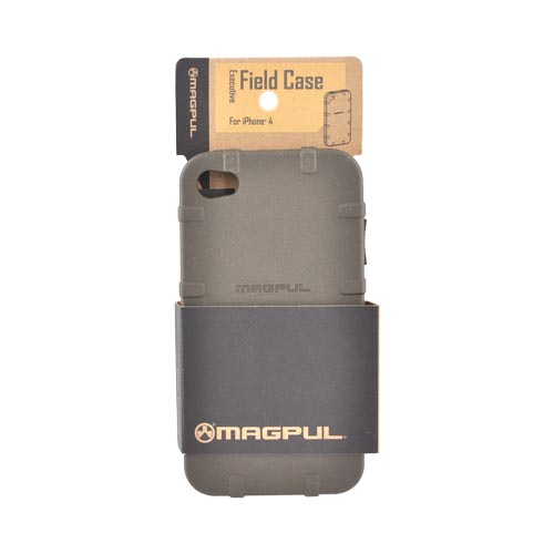 Original Magpul Apple AT&T iPhone 4 Executive Field Crystal Silicone Case, MAG450-ODG - Olive Dab Green