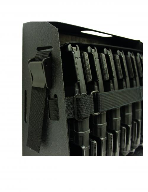 [Magstorage Solutions] MagSafe-3, Securely Mount 3 AR-15 30 Round Mags For Ready Access - The Safe And Secure Way To Mount Your AR-15 Mags!