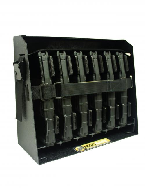 [Magstorage Solutions] MagSafe-6, Securely Mount 6 AR-15 30 Round Mags For Ready Access - The Safe And Secure Way To Mount Your AR-15 Mags!