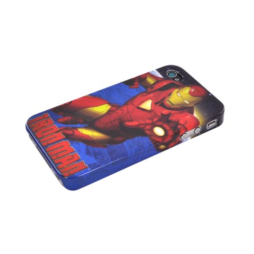 Original Marvel AT&T/ Verizon iPhone 4 Hardshell Hard Case, MCU0143 - Red/ Gold Iron Man Reflections
