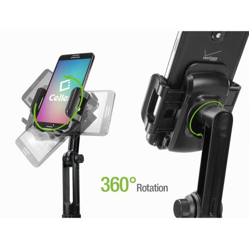 Adjustable Automobile Extended Cup Holder Mount for iPhones, iPods, Smartphones, MP3 Players, GPS Systems & More!