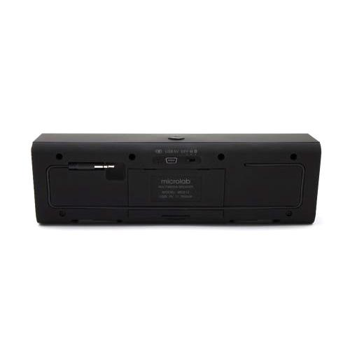 Microlab® Universal Portable Bluetooth Stereo Speaker with Mic, Rechargeable Battery & 3.5mm Port [MD212]