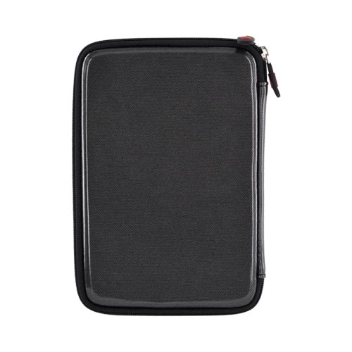 "Original Kroo 7"" E-Reader EVA Zipper Hard Shell Case w/ Fur Lining, MDK3HDK1 - Carbon Fiber"