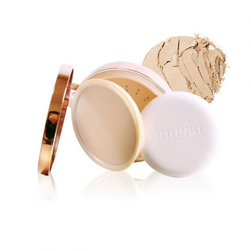 PONY EFFECT SKIN FIT POWDER PACT #NUDE BEIGE
