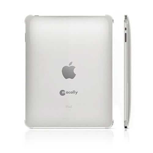 Original Macally Apple iPad (1st Gen) 1st Protective Snap-On Case - Transparent Clear