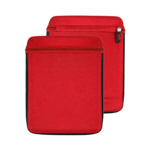 Original Kroo USA Apple iPad (All Gen.) iCap EVA Nylon Case, MIPACPR1 - Red