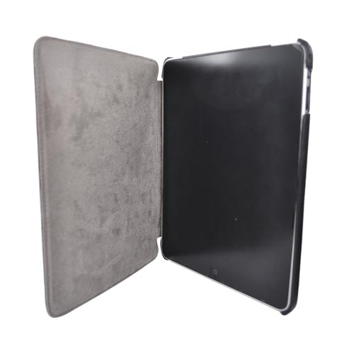 Original Kroo USA Apple iPad (1st Gen) Leather Wrapped Couture Sleeve Case, MIPACTK1 - Black