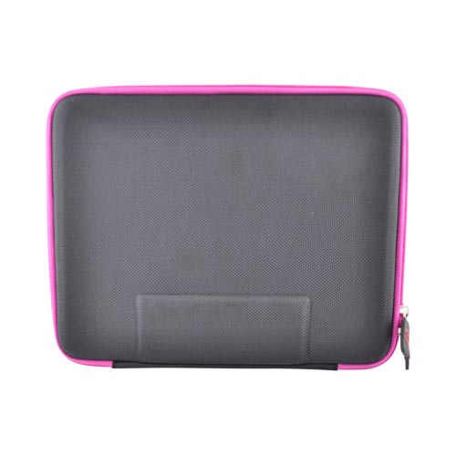 Original Kroo USA Apple iPad (All Gen.) Cube Sleeve Case, MIPANYM1 - Black/Hot Pink