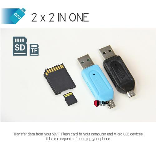 Universal Micro SD Flash USB Memory Card Reader For Mobile Phone & PC!