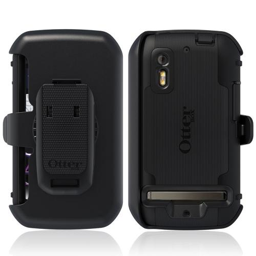 Original Otterbox Motorola Photon 4G Defender Series Silicone Over Hard Case w/ Kickstand & Belt Clip, MOT2-PHTN4-20-EOTR - Black