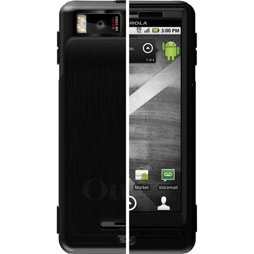 Original OtterBox Motorola Droid X MB810 Commuter Series Case w/ Screen Protector, MOT4-DRODX-20 - Black