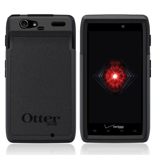 Original Otterbox Commuter Series Motorola Droid RAZR Hard Cover Over Silicone Case w/ Screen Protector, MOT4-RAZR1-20-E40TR - Black