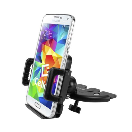 "Cellet™ Universal CD Slot Mount for Cell Phones & GPS [Max Width 4""]"