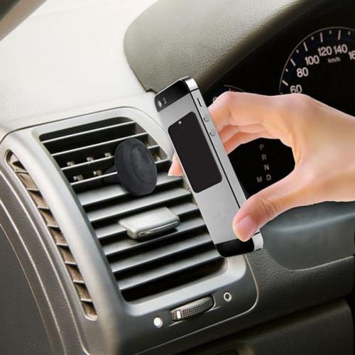 Magnetic Pad Auto Car Air Vent Mount Holder for Smartphones GPS - [Great Hold, Easy Installation]