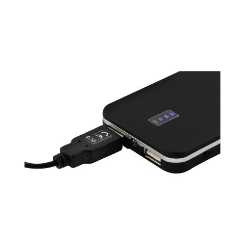 mPower! Dual USB Portable Power Pack /w Micro USB Cable for Smart Phones and Tablets (5000mAh)