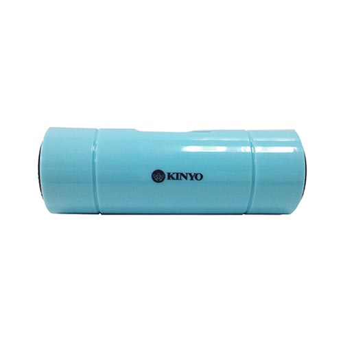 Original Kinyo Universal Portable Cylinder Speaker (3.5mm) - Baby Turquoise