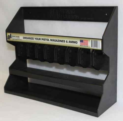 [Magstorage Solutions] MSSPMH, Pistol Magazine Holder - Organize Your Pistol Magazines & Ammo!