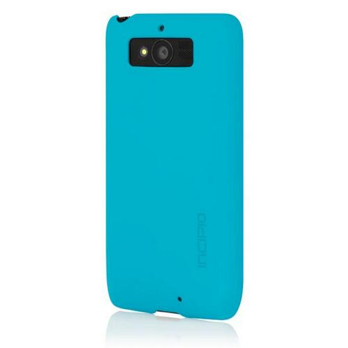 Incipio Cyan (Blue) Feather Series Rubberized Hard Case for Motorola Droid Mini - MT-264