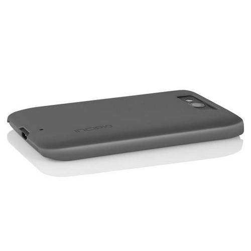Incipio Gray Feather Series Rubberized Hard Case for Motorola Droid Mini - MT-265