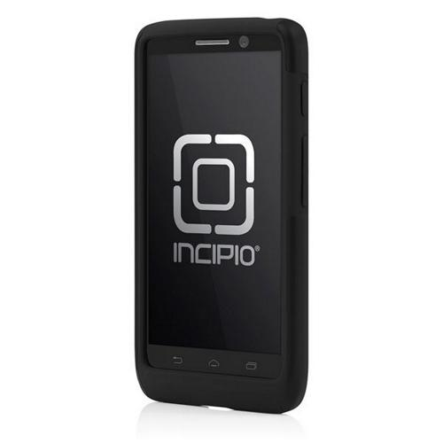 Incipio Black Dual PRO Series Rubberized Hard Case on Silicone for Motorola Droid Mini - MT-266
