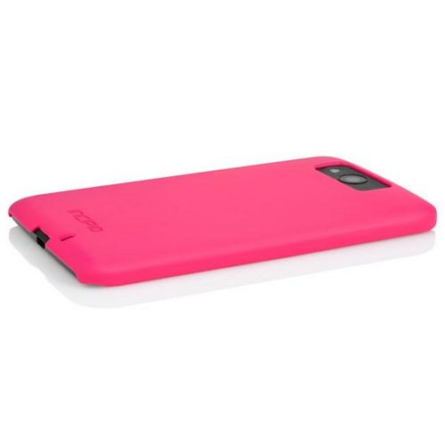 Incipio Hot Pink Feather Series Rubberized Hard Case for Motorola Droid Ultra - MT-273