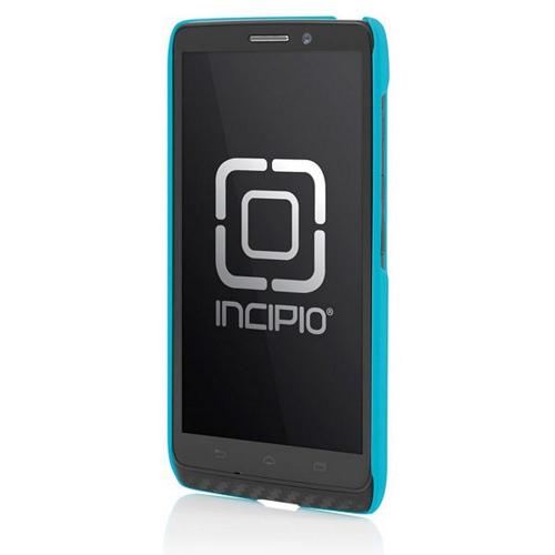 Incipio Cyan (Turquoise) Feather Series Rubberized Hard Case for Motorola Droid Maxx -MT-296