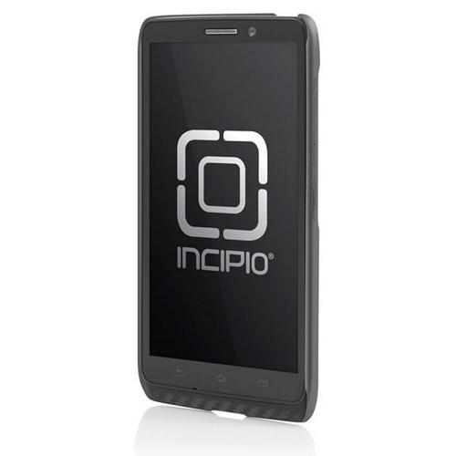 Incipio Gray Feather Series Rubberized Hard Case for Motorola Droid Maxx - MT-297