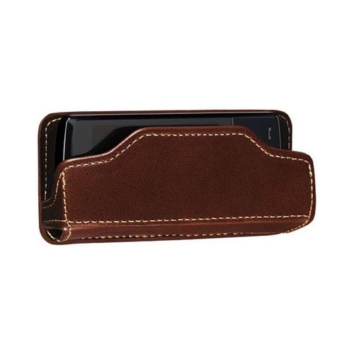 Original MobiValet™ Universal Genuine Leather Holder (PUTL), MVBRL - Brown
