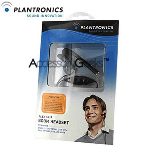 Original Plantronics MX256 Flex Grip Boom Headset - Nokia