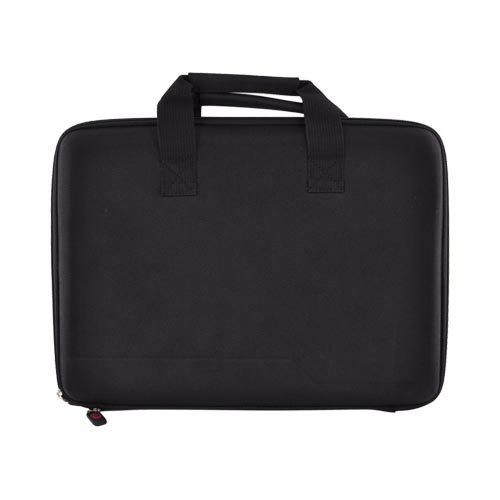 "Original Kroo 13.3"" Notebook Nylon Case w/ Handles & Pocket, ND133CK1 - Black"