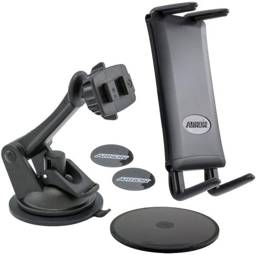 Arkon Black INTELLIGRIP Android Programmable NFC Car Dock Bundle