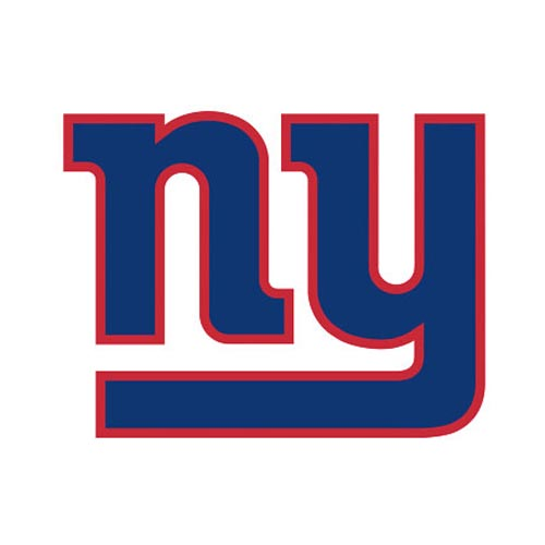 Original iHip Universal NFL Licensed New York Giants Portable Spherical Speakers (3.5mm), NFV4000NYG - Blue/ White/ Red