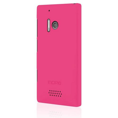 Incipio Pink Feather Rubberized Hard Case for Nokia Lumia 928 - NK-155