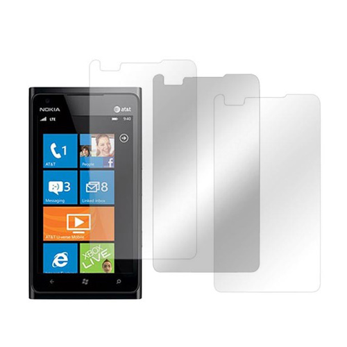 Nokia Lumia 900 Screen Protector Medley w/ Regular, Anti-Glare, & Mirror Screen Protectors