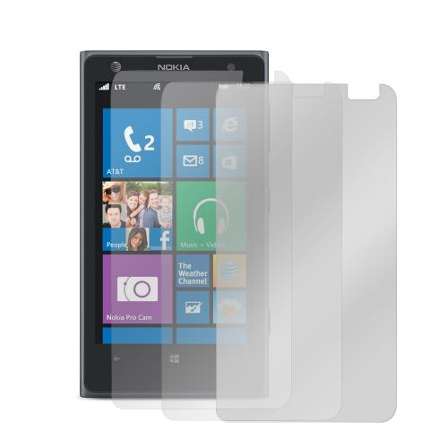 Screen Protector Medley w/ Regular, Anti-Glare, & Mirror Screen Protectors for Nokia Lumia 1020