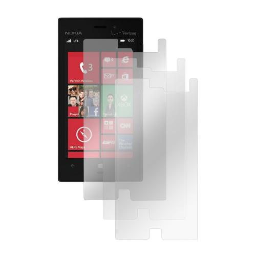 Screen Protector Medley w/ Regular, Anti-Glare, & Mirror Screen Protectors for Nokia Lumia 928