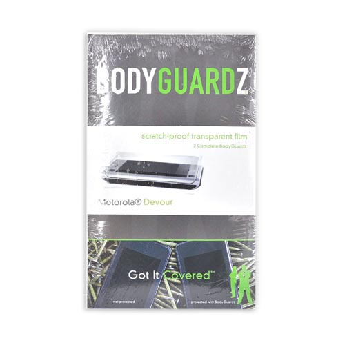 BODYGUARDZ Motorola Devour A555 Protective Body Film Scratch Proof (2-Pack)