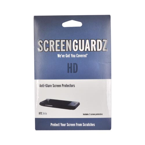 Original ScreenGuardz HD HTC Aria Anti-Glare Screen Protector (2 pack), NL-HARI-0610