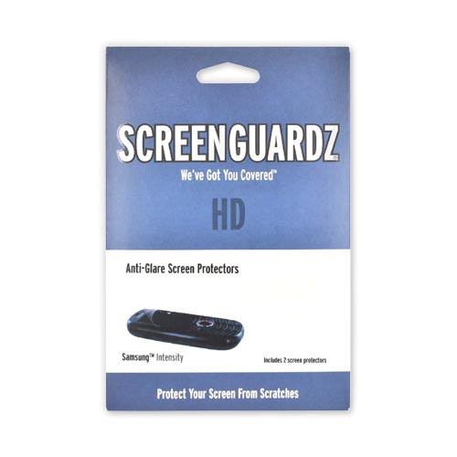 SCREENGUARDZ HD Samsung Intensity U450 Anti-Glare Screen Protector 2-Pack