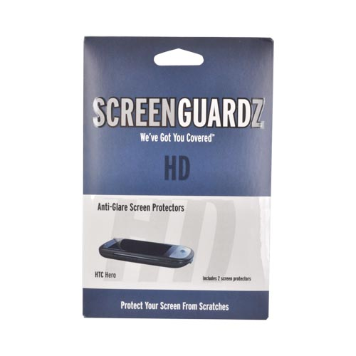 Original ScreenGuardz HD HTC Hero Anti-Glare Screen Protector (2 pack), NL-HSPH-1009